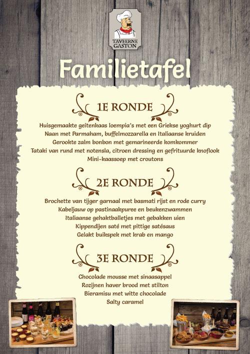Theater Familietafel